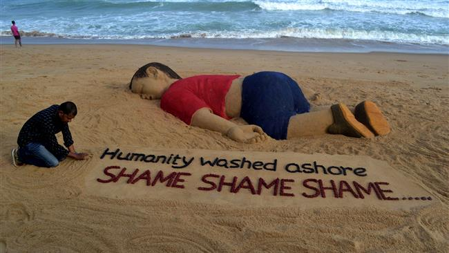 Refugees Lullaby – Washing Ashore Was OurHumanity